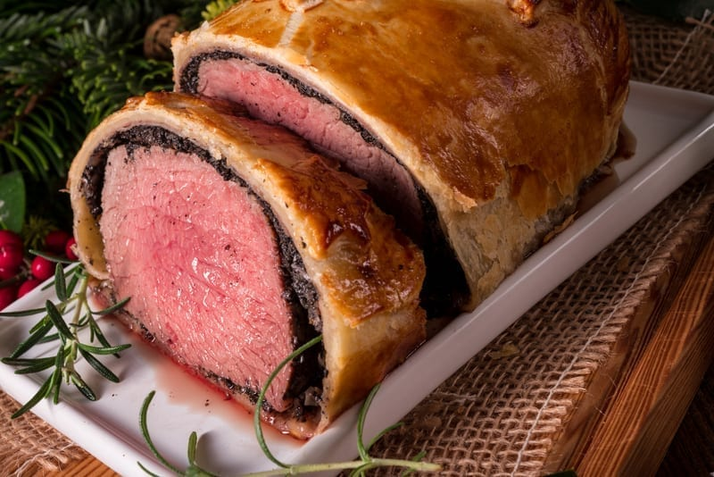 Beef Wellington, personal chef, personal chef austin, catering austin, meal delivery austin, customized meals austin