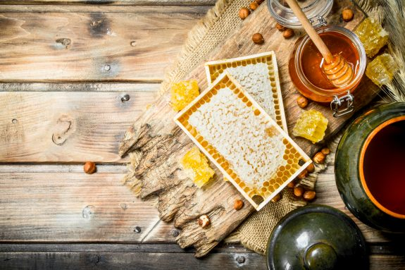 Honey, a sweet nectar.