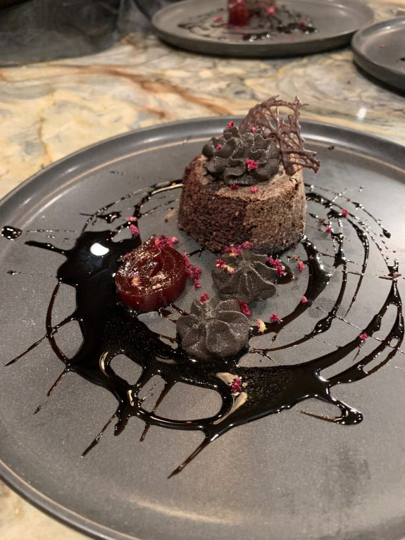The Austin Artisan specializes in desserts like this chocolate delight.